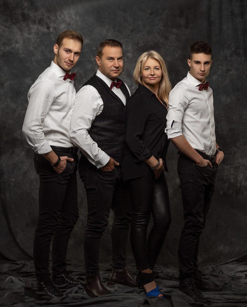 Portret rodzinny w stylu fine photo