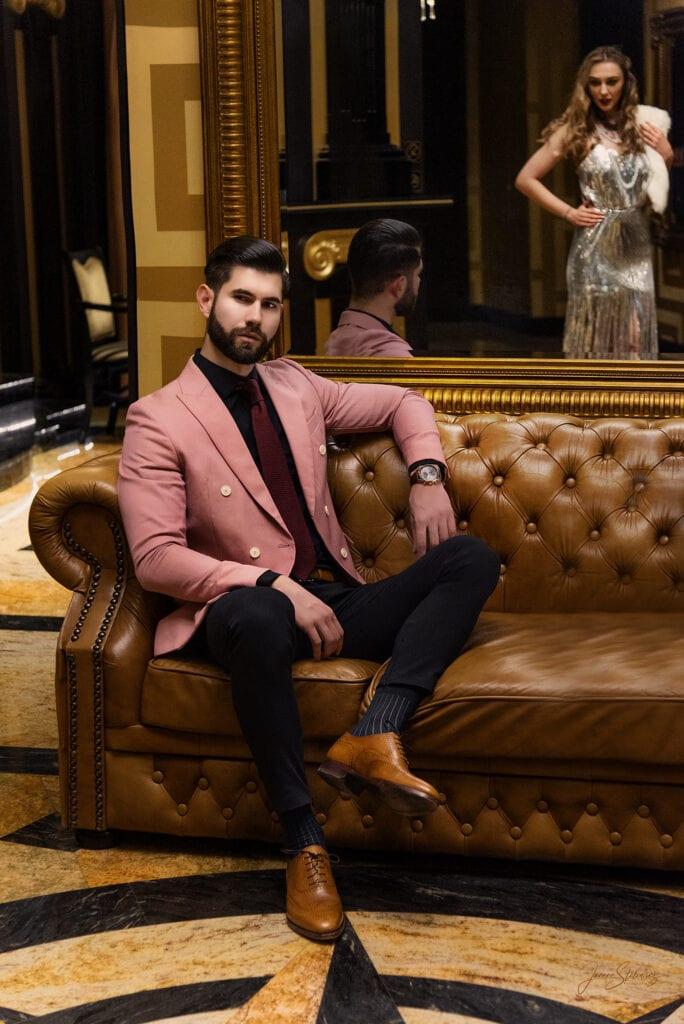 zdjęcia fashion mężczyzna