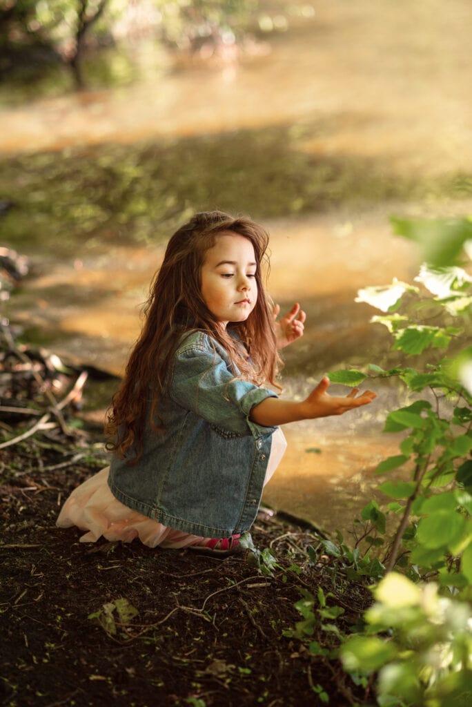 portret dziecięcy, magiczna fotografia dziecięca