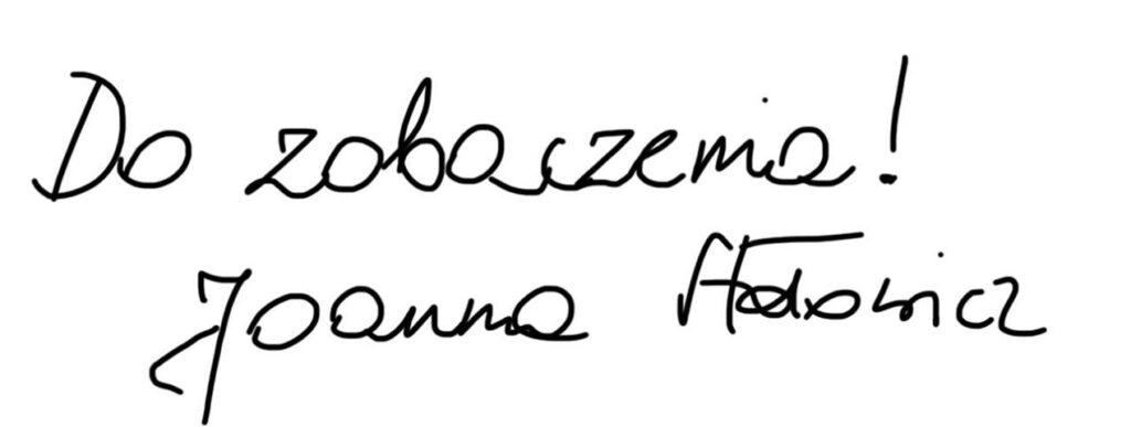 podpis Joanna Stołowicz