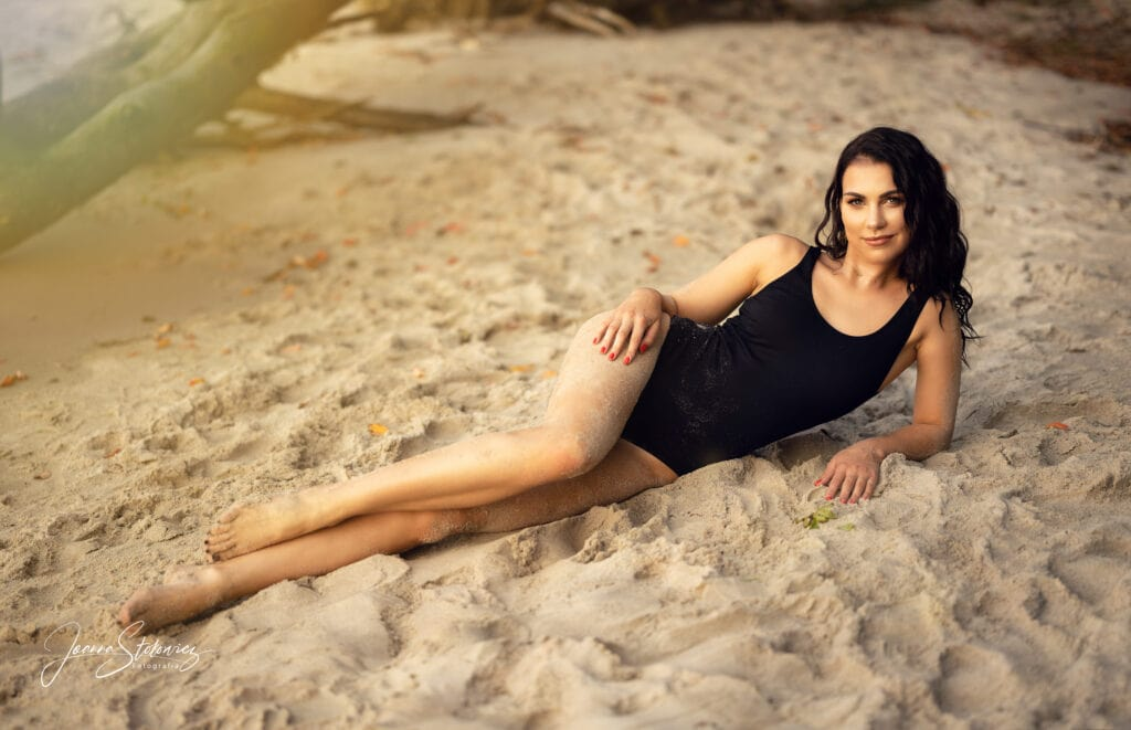 sesja na plaży szczecin